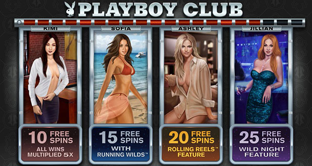 Playboy Online Slot Machine Review