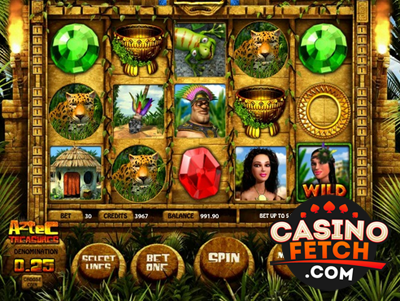 Aztec Treasures Video Slots Review At RTG Casinos