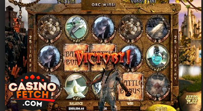 Orc vs. Elf 3D Video Slots Review At RTG Casinos
