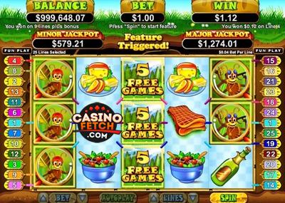 Small Fortune US Progressive Video Slot Machine Review At RTG Casinos