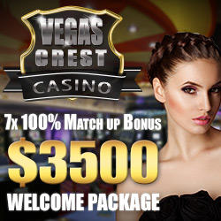 Vegas Crest USA Online and Mobile Casino Review