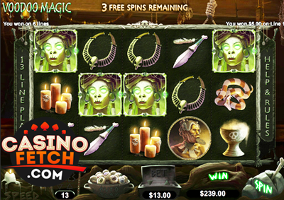 Voodoo Magic Slot Machine Online ᐈ RTG™ Casino Slots