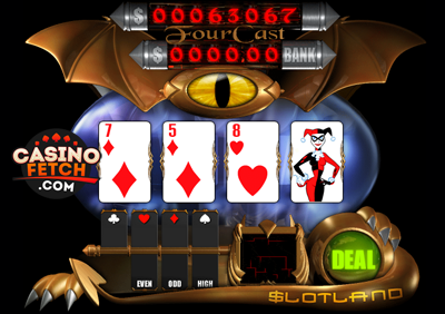 Fourcast Progressive 3D Video Slots Review At Slotland Casino
