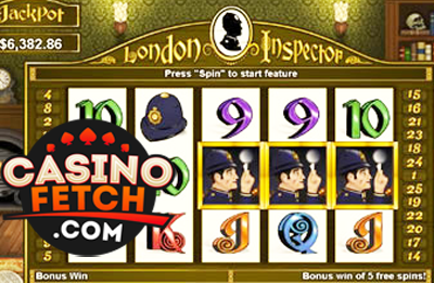 London Inspector Video Slots Review At RTG Casinos