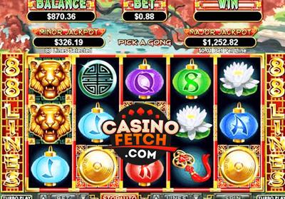 Lucky Tiger Slot