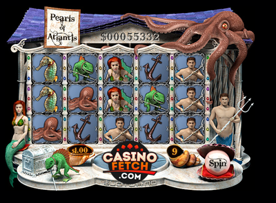 Pearls Of Atlantis Progressive 3D Video Slots Review At Slotland Casino