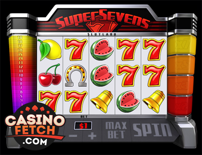 Super Sevens 3D Video Slots Review At Slotland Casino