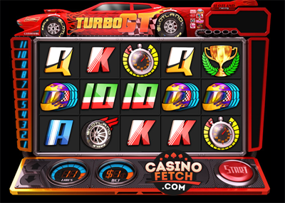 Turbo GT 3D Video Slots Review At Scotland Casino