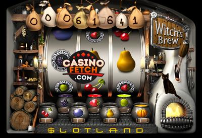 Witches Brew Progressive 3D Video Slots Review At Slotland Casino