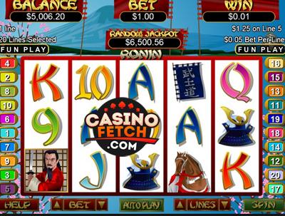 online slot us