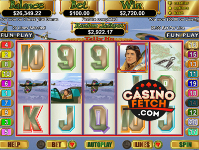 Tally Ho Video Slots Game Reviews At US Casinos