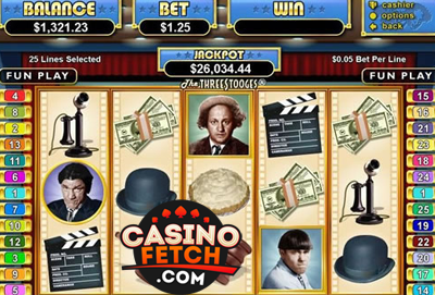 Three Stooges II Online Slot Reviews At US Casinos