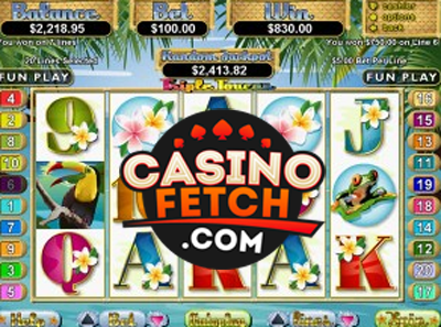 online slot machine online casino review