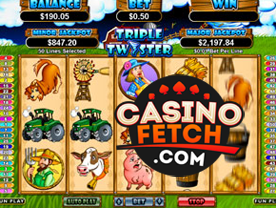 Triple Twister Online Slot Game Reviews At US Casinos