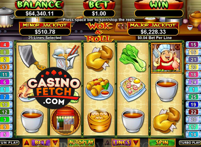 Wok & Roll Video Slot Game Reviews At US Online Casinos