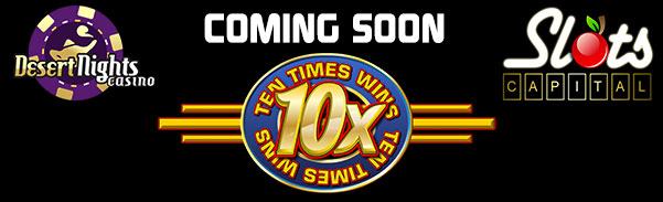 Rival Casinos Are Ready To Launch 'Ten Times Wins' Online Slots