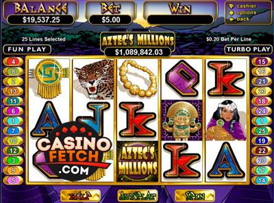 Aztec Millions Video Slots Review At RTG Casinos