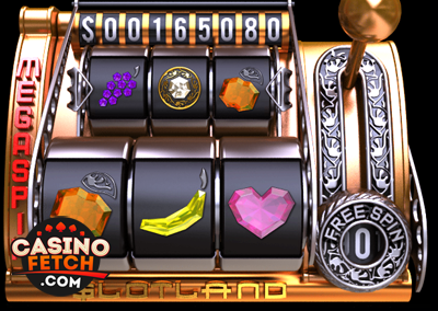 Mega Spin 3D Progressive Video Slot Game Review At Slotland Casino