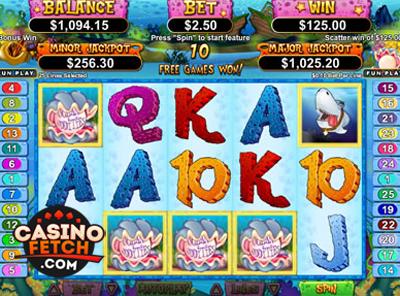 Ocean Oddities US Progressive Online Slot Machine Review At RTG Casinos