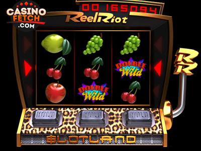 Reel Riot 3D Progressive Video Slot Game Review At Slotland Casino