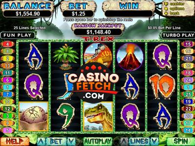 T-Rex Online Slot Machine Review at RTG Casinos