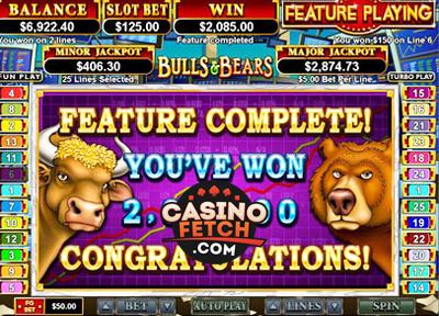 Bulls and Bears Video Slots Review At RTG Casinos