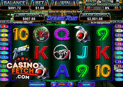 Dream Run Video Progressive Slots Review At RTG Casinos