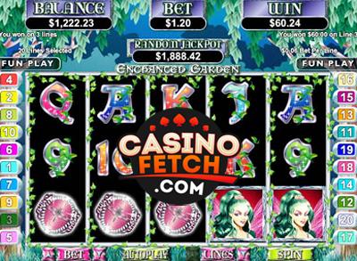 Enchanted Garden Video Slots Review At RTG Casinos