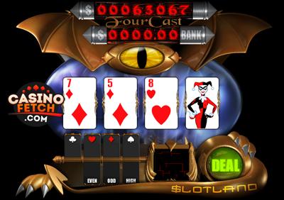 Fourcast Progressive 3D Video Slots Review At Slotland Casino