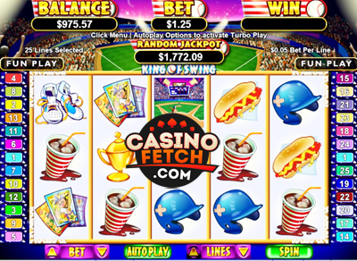 King Of Swing Online Video Slots Review At RTG Casinos