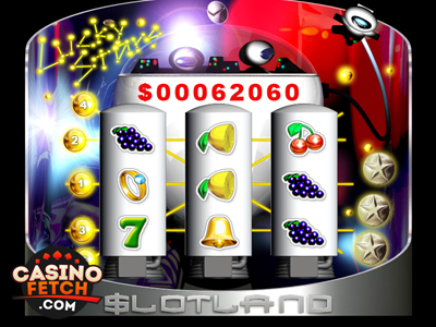 Lucky Stars Progressive 3D Video Slots Review At Slotland Casino