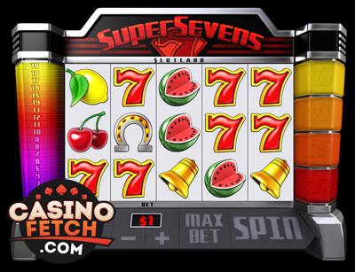 Super Sevens 3D Video Slots Review At Slotland Casino