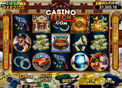 Cash Bandits Video Slots Reviews At Real Money USA Casinos