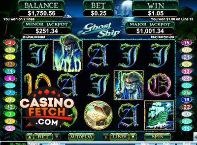 Ghost Ship Slot