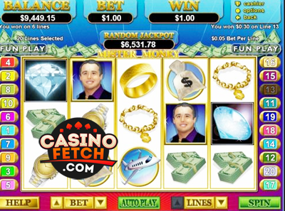 Mister Money Video Slot Game Reviews At US Casinos