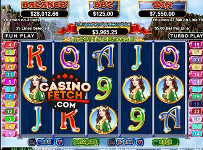Mystic Dragon Video Slots Game Reviews At US Casinos
