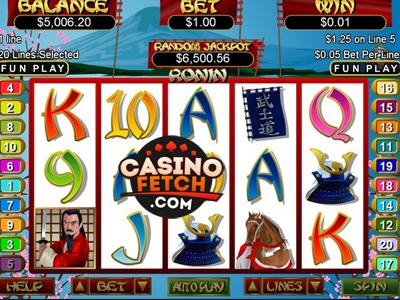 Ronin Video Slots Game Reviews At US Casinos