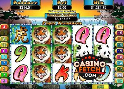 Tiger Treasure Online Slot Game Reviews At US Casinos