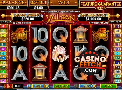 Vulcan RTG Slots Reviews At American Online Casinos