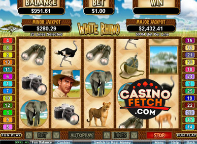 Free white rhino slots