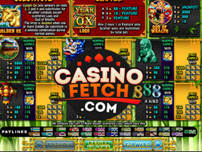 Year Of Fortune Slots Game Reviews At US Online Casinos