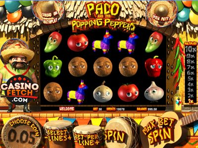 Spiele Paco And The Popping Peppers - Video Slots Online