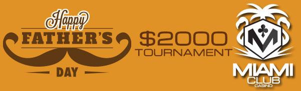 Miami Club Casino Launches Huge Fathers Day Online Casino Bonuses